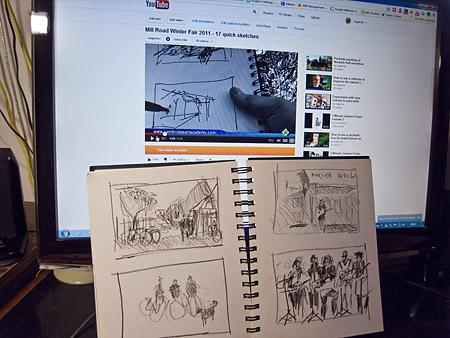 mill road fiar sketches