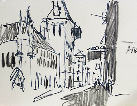 sketch royal cours of justice london