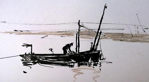 mending nets west mersea