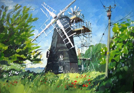 Great Thurlow windmill